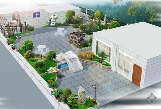 湖北某屋顶绿化方案设计
