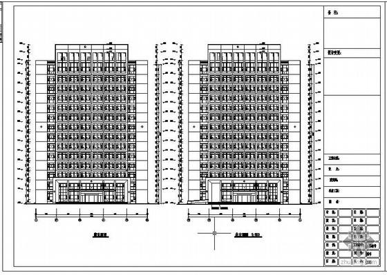 山东某办公楼铝合金窗工程设计图