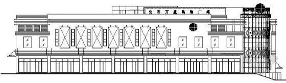 大连某购物广场建筑施工图