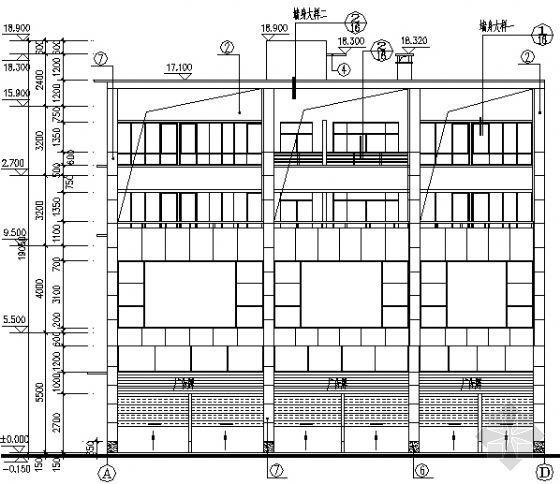 某不规则住宅建筑施工图-2