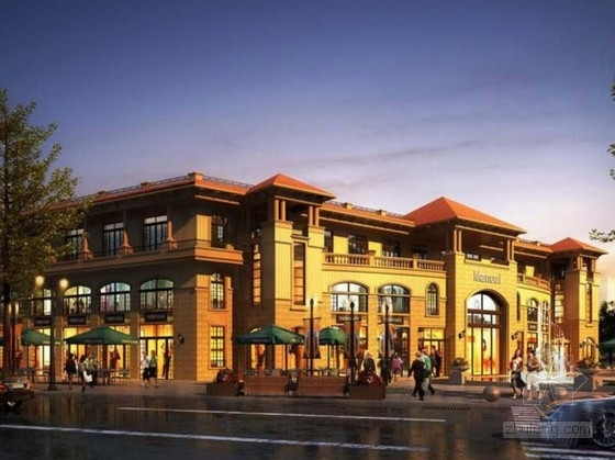 [江西]住宅及商业片区规划方案文本(含多种风格建筑单体设计)