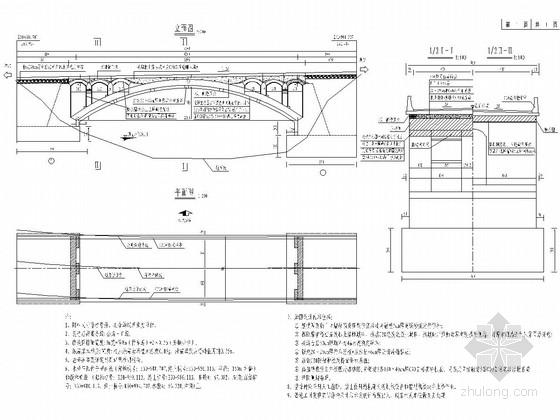 二级公路石拱桥工程加固设计套图(16张)