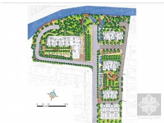 无锡花园小区景观方案设计