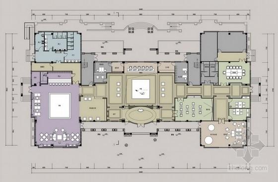 [南通]知名设计公司设计商业公共空间售楼处概念方案(含效果图)