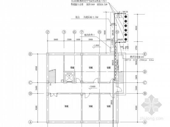 小型多层招待所空调通风排烟系统设计施工图(空气源热泵)