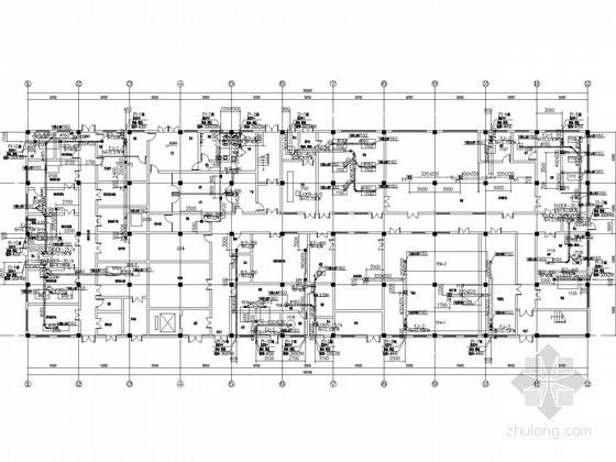 [湖南]多层制药车间空调通风系统设计施工图(洁净设计)