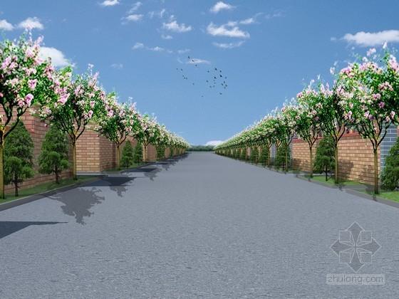 [广西]新农村建设基础设施道路工程施工组织设计(含给排水、交通工程)