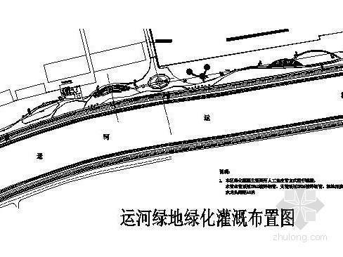 [杭州]某滨水河道局部景观工程施工图