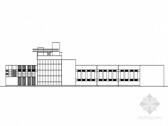 [北京]某城市科普展览馆建筑方案图