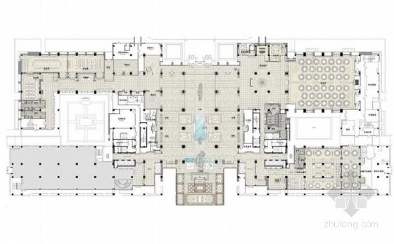 [黄山]豪华五星级皇冠假日酒店设计方案图