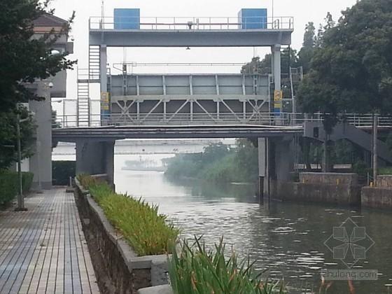 [上海]水闸现场安全检测分析报告(图文并茂)