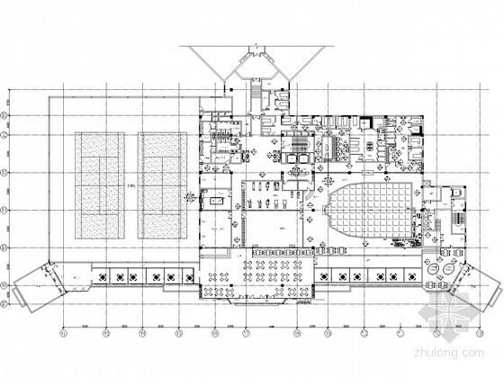 [云南]宾馆游泳池工程给排水施工图纸(循环水处理、含计算)