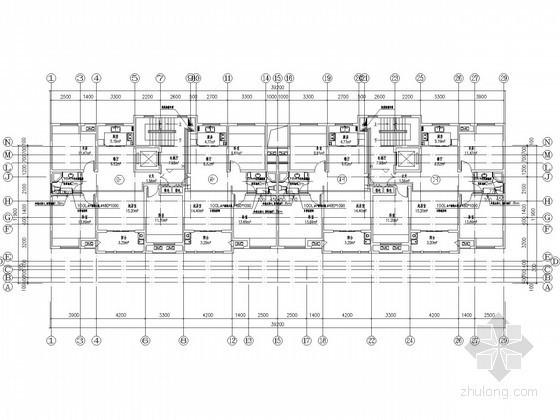 [安徽]4.7万平高层建筑给排水施工图(住宅 商业 办公 太阳能热水)