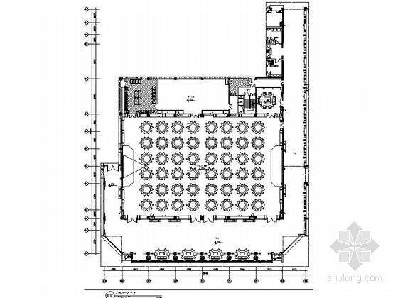 [苏州]中式风情五星级会议酒店多功能厅装修施工图(含效果)