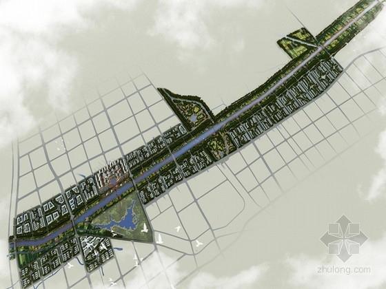 [安徽]城市滨河绿地景观风貌规划设计方案(北京著名景观设计公司)