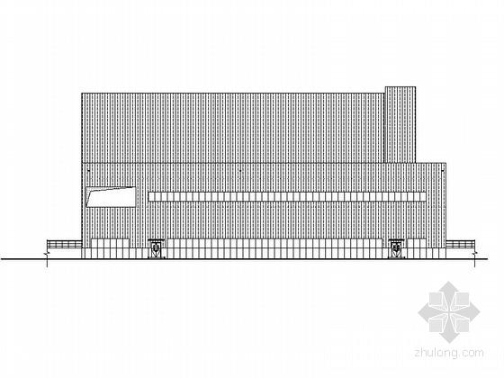 [南京]多层框架结构涂装类工业厂房建筑施工图