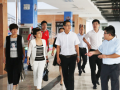 便装网CEO尤月林一行考察潍坊大学生创业产业园