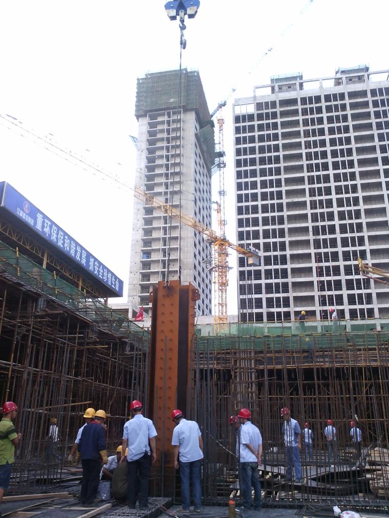 [筑龙18周年庆]高层框筒结构建筑施工现场照片