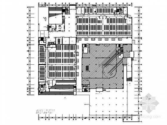 [安徽]现代规划展览馆室内装修施工图