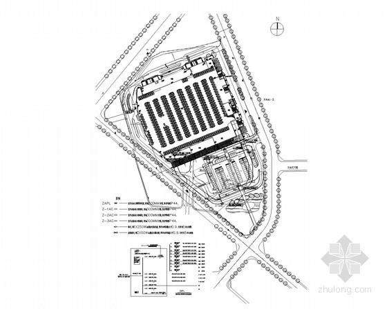 [北京]大型购物中心强弱电施工图200张