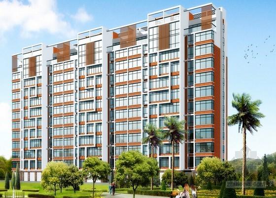 [湖南]高层住宅楼及配套用房建筑安装工程预算书(含全套图纸)