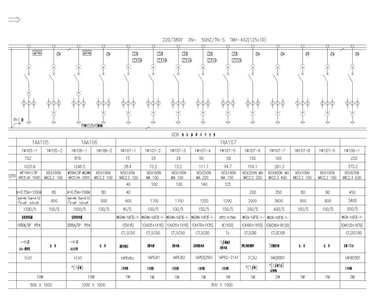 汉裕金谷-电气设计全套施工图(含10KV配电、10/0.4KV变配电系统,建筑设备监控系统)_1