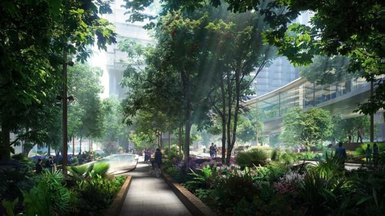 香港太古坊景观