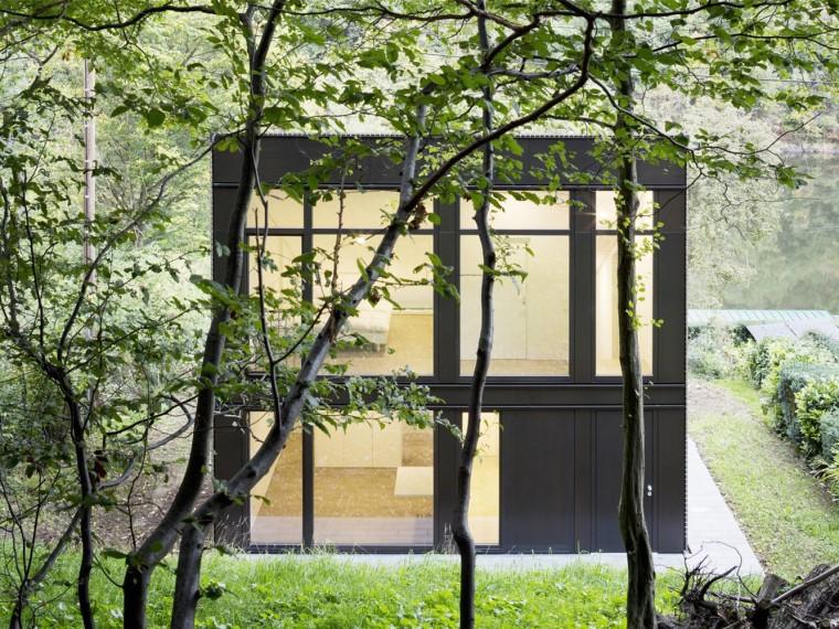 德国湖边小屋