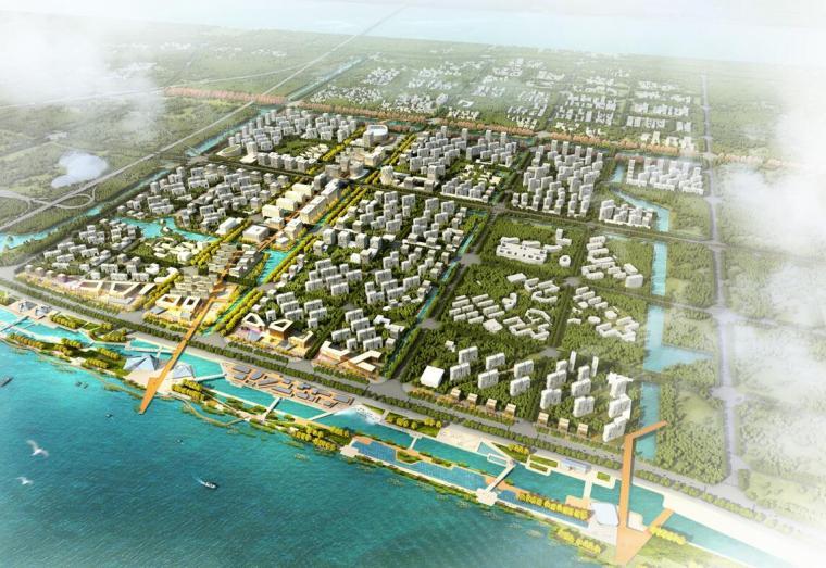 [浙江]东海国际新城城市规划设计汇报成果文本(PPT+2017+158页)