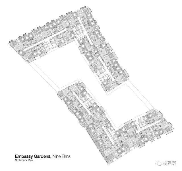 """27米长的""""空中泳池"""",在两栋大楼的第10层连接在一起,中间完全_37"""