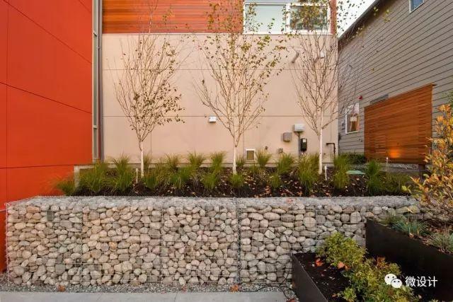 各式各样的庭院景观墙,美_15