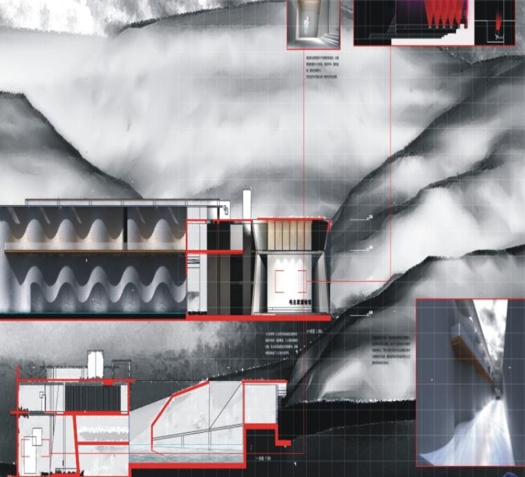 建筑排版3000张毕业设计作品集,展板