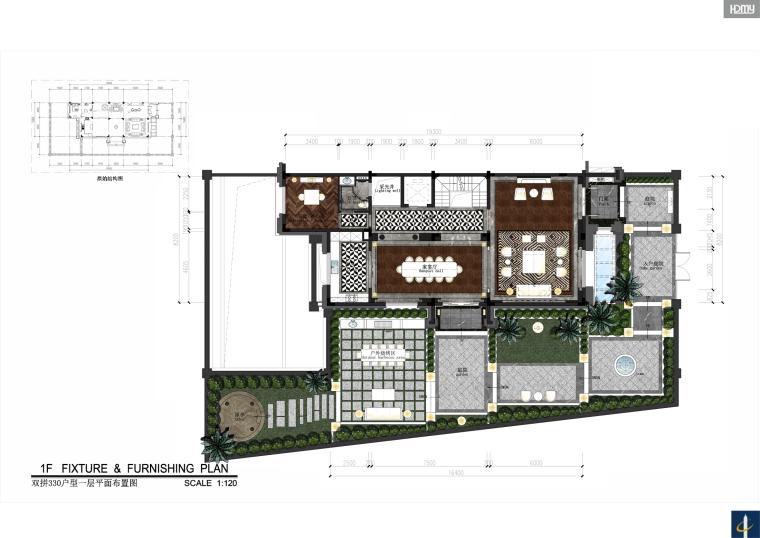 大时代美学家—中国金茂•佛山绿岛湖别墅住宅设计效果图