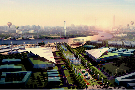 上海世博会规划设计方案文本-05效果图