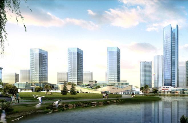 [广东]佛山市西江新城规划及城市设计方案文本(特色,交融)