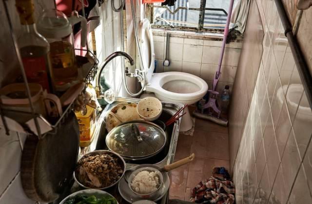 """没见过香港的""""棺材房""""都不知道我们住得多幸福_8"""
