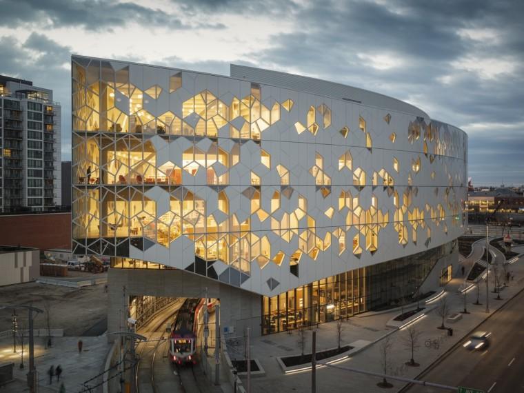 加拿大卡尔加里中央图书馆