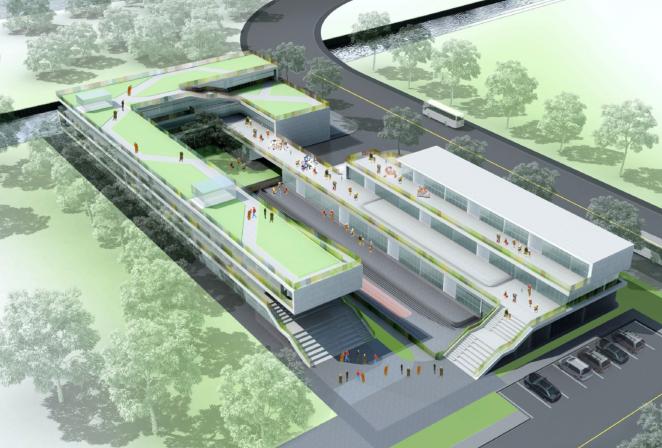 新江桥城幼儿园和托老所概念方案设计文本