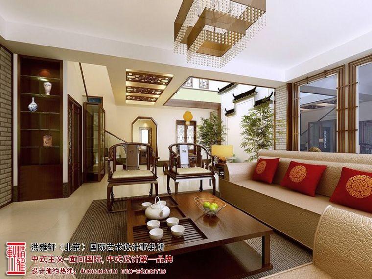 镇江现代别墅装修设计,古典高雅具备小清新格调_4