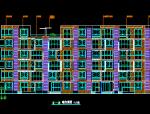 六层联体别墅建筑施工图