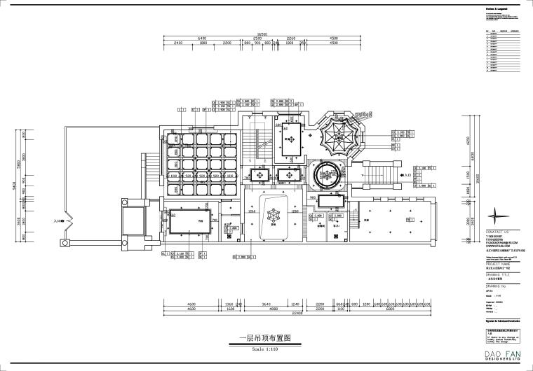 [保定]红山庄园新古典风别墅设计施工图(附效果图)