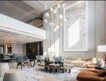 上海黄浦滩名苑摩登东方样板间室内设计实景图