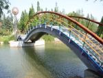 绵阳市人行景观桥栏杆制作安装施工方案