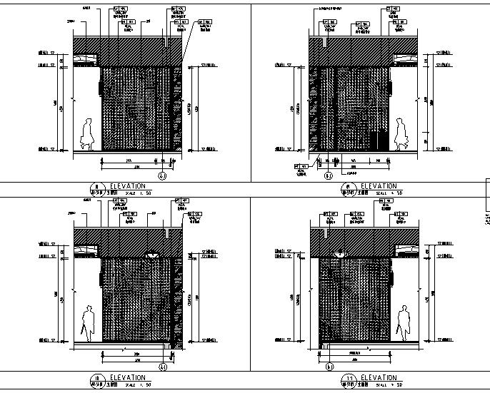 [重庆]110000平米酒店设计施工图(附效果图)_1