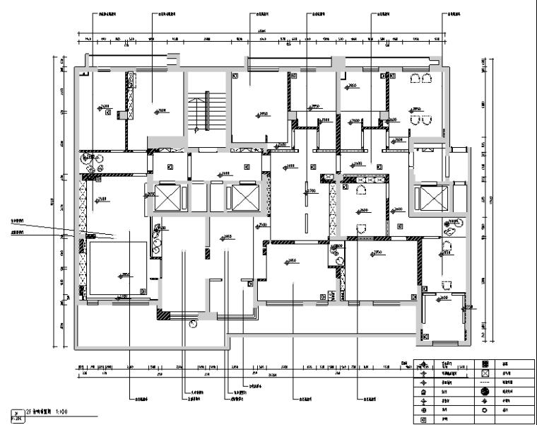 [新疆]东方禅意品茗茶室空间设计施工图(附效果图)_3