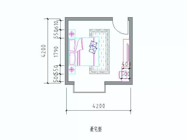住宅户型的合理尺度(经济型、舒适型、享受型)_40