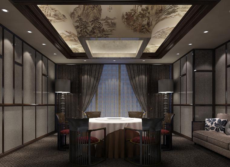 400平方酒店设计施工图(附效果图)_7