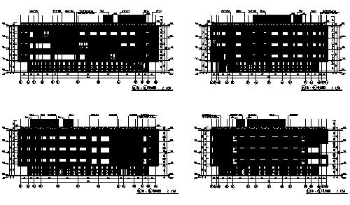 [江苏]某中学新校区两栋建筑全专业施工图(17年最新、含运动场)
