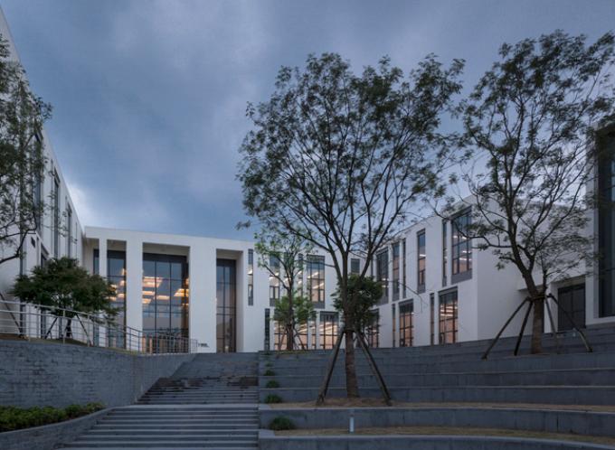 [浙江]流动地景自然生态大学校园景观规划设计全套图纸(方案+CAD施工图+PDF施工图+实景图)-景观实景图