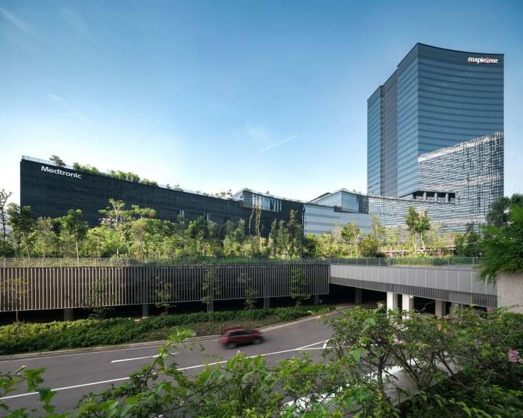 新加坡Comtech商业园区景观-3